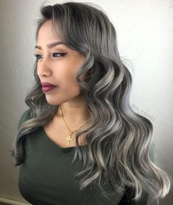 Grey Balayage