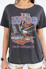 Vintage style The Who tee