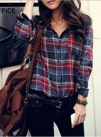 plaid flannel shirts