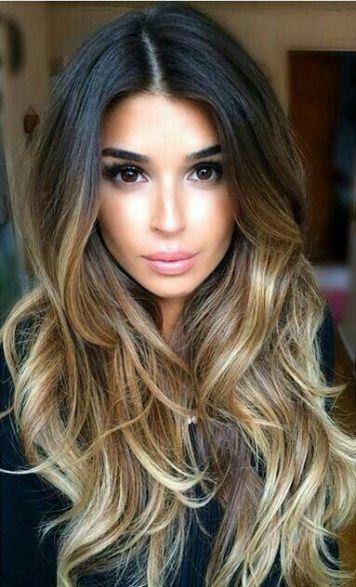 light-caramel-balayage-on-black-hairs
