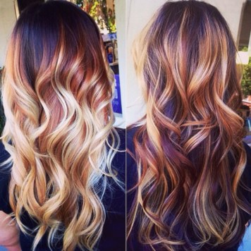 natural-red-ombre-and-balayage-hairstyles-looks