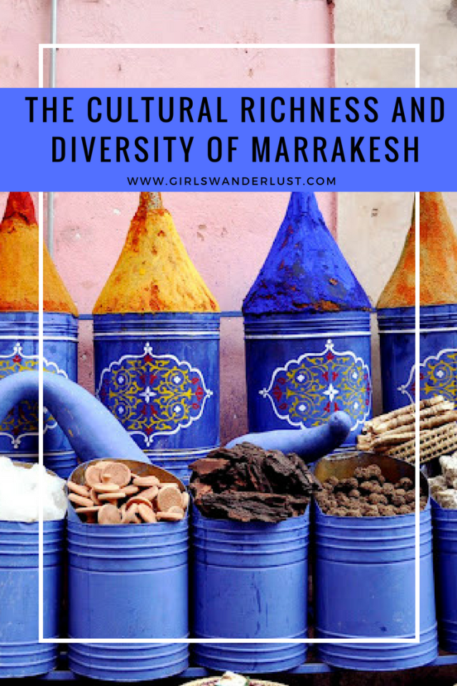 The cultural richness and divirsity of Marrakesh (Morocco) #girlswanderlust #wanderlust #travel #traveling #travelling #travel #travelblog #travelinspiration #inspiration #reizen #morocco #marrakesh.png