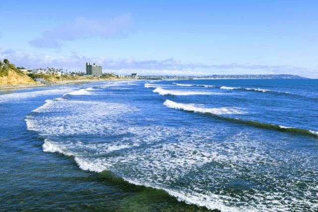 San Diego Beach View