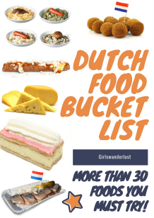 Dutch food bucket list 2 - 30 Foods you must try in the Netherlands via @girlswanderlust #netherlands #holland #food #bucketlist #foods #foodbucketlist #nederland