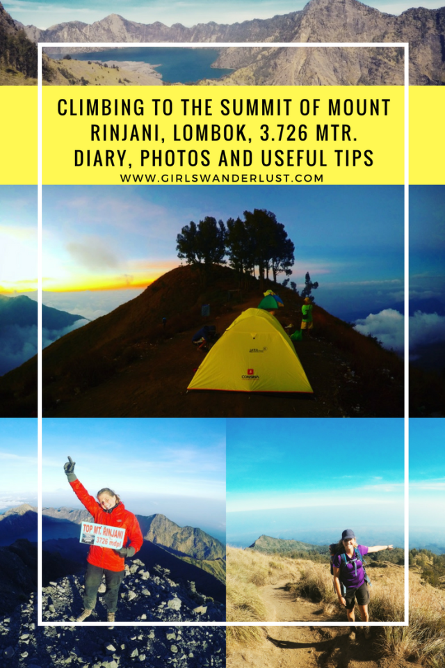 Climbing to the summit of Mount Rinjani, Lombok in 3 days and 2 nights- diary, photos and tips By @girlswanderlust #Lombok #Rinjani #Mountrinjani #indonesia #asia #girlswanderlust #travel #wanderlust #Summit #back.png