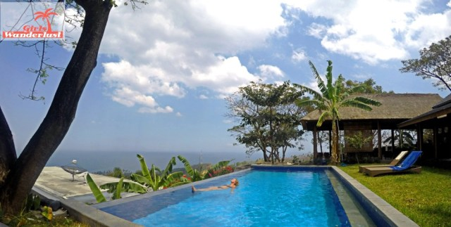 Zerosix Villa Senggigi, an amazing and unique Airbnb villa to stay in Lombok! Pool. Via @girlswanderlust #Lombok #Senggigi #travel #wanderlust #airbnb #girlswanderlust #travel #asia #poo