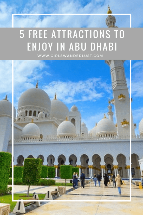 5 free attractions to enjoy in Abu Dhabi