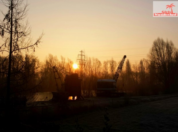 A unique experience at the well-maintained industrial heritage site Buitengoed de Panoven. Sunrise. by @girlswanderlust #girlswanderlust #panoven #buitengoed #netherlands #nederland #tra
