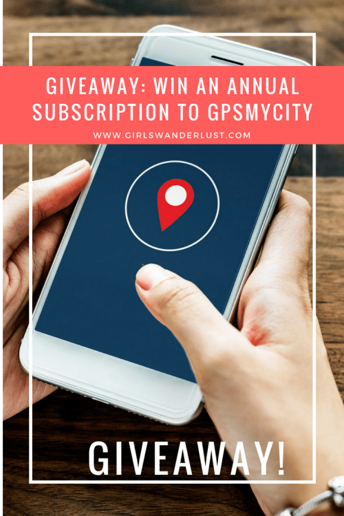 Giveaway; win an Annual Subscription to GPSMyCity by @girlswanderlust #giveaway #travel #wanderlust #girlswanderlust #gpsmycity #cityguide #citytrip #travelapp #travelapplication  #winactie.png