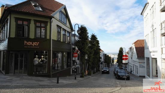Stavanger city center