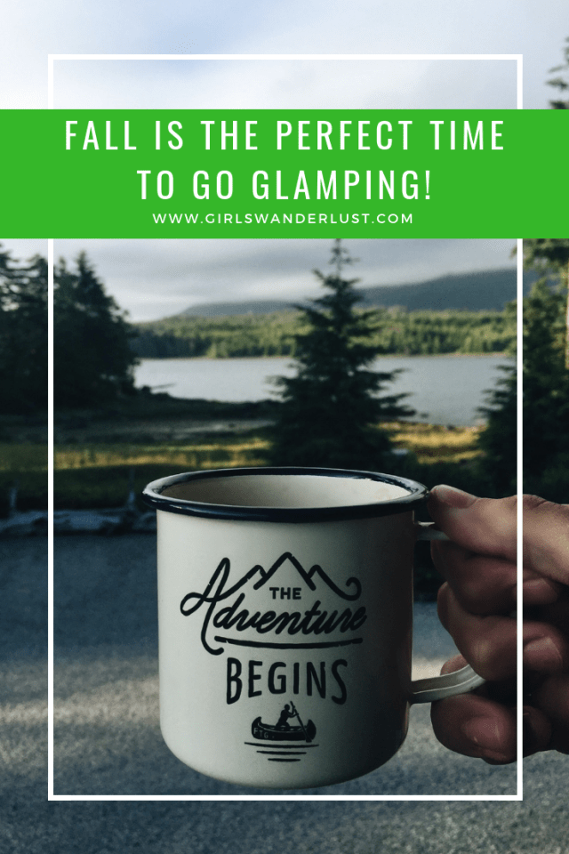 Fall is the perfect time to go glamping!