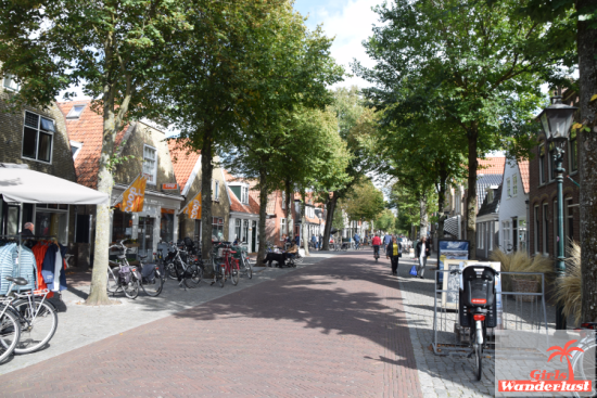 Town shopping street