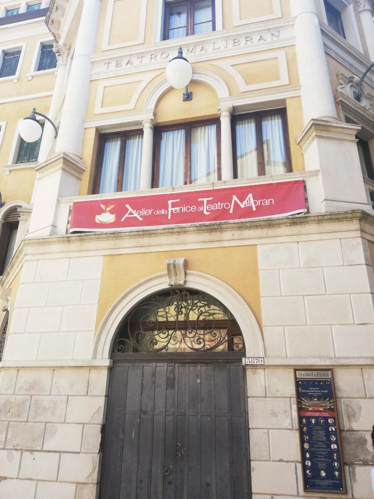 Girls Who Travel | The Malibran Theater in Venice