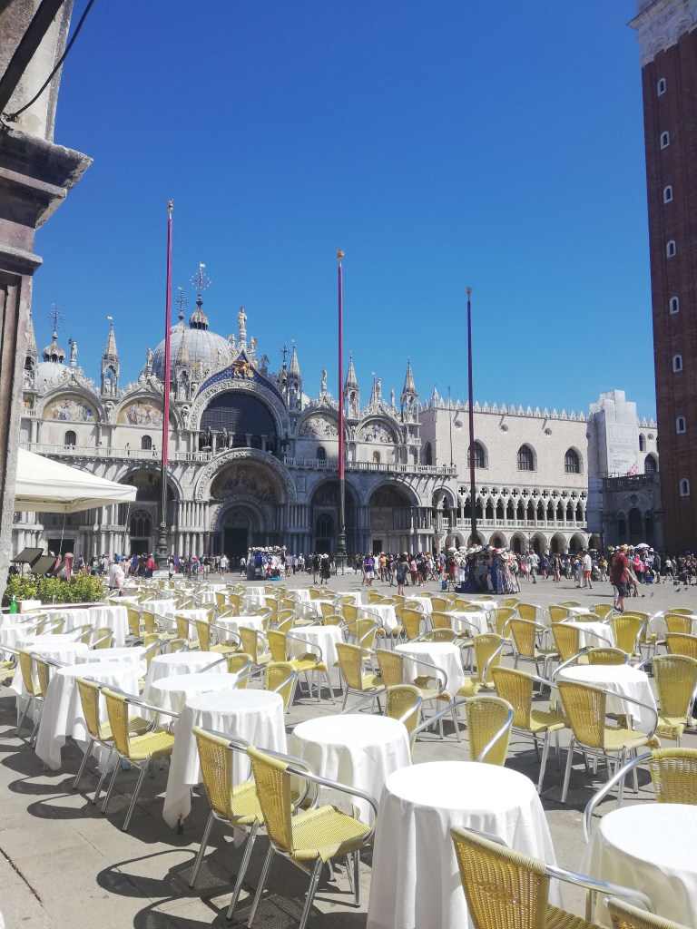 Girls Who Travel   San Marco Square
