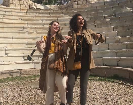 Girls Who Travel | The Screenshot from Macarena Video
