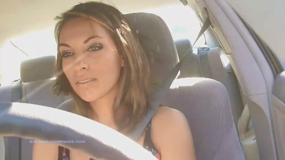 Rina has no brakes!