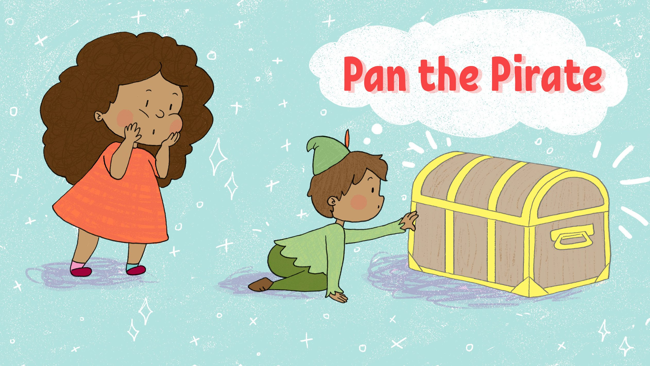 Pan the Pirate by Dani Martineck