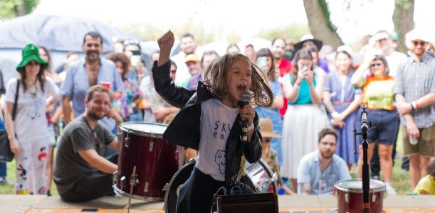 Little Girls Doing Big Things: Sadie, Electro-Punk Performing Artist