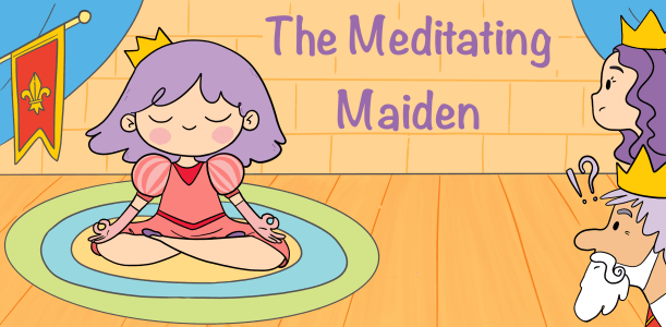 Meditating Maiden by Rebecca Weaver