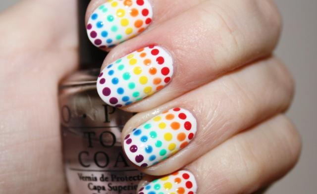 Rainbow Nail Art Tutorials 2