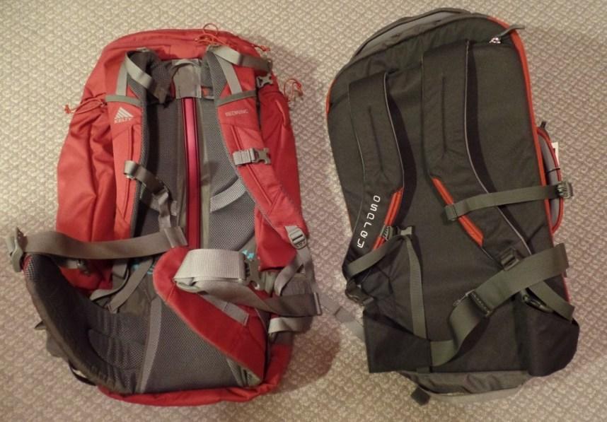 Kelty Redwing 50L vs Osprey Porter 40L - Underbelly