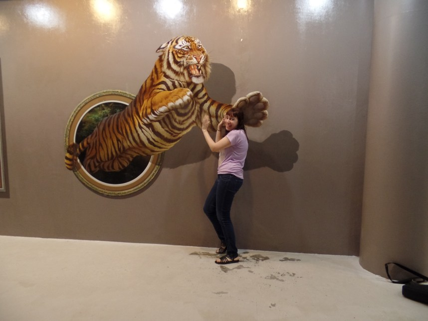 3D Art In Paradise - Tiger