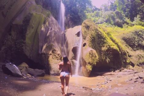Girl, Unspotted - Ambon-Ambon Falls