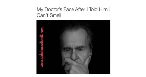 Anosmia and Doctor Reaction Meme Facebook