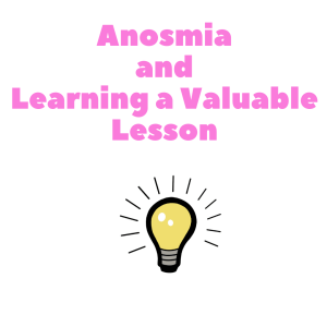 Anosmia and learning