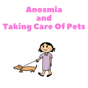 Anosmia and taking care of your pet