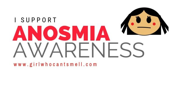 I Support Anosmia Awareness