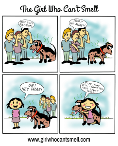 Stinky Dogs Are Not A Problem For Me Anosmia Webcomic