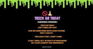 Anosmia Happy Halloween Facebook