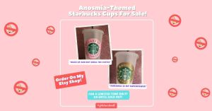 Anosmia Personalized Starbucks Cups For Sale Facebook