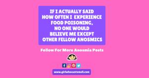Food Poisoning anosmia For Facebook