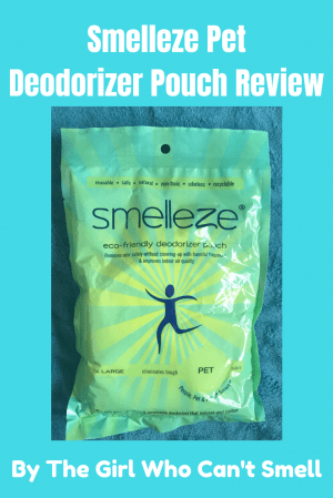 Smelleze Pet Pouch Review By The Girl Who Cant Smell