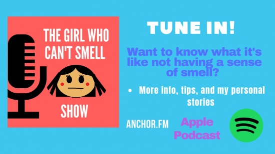 The Girl Who Cant Smell Podcast