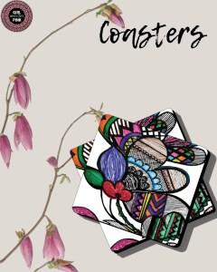 GWLP! Coasters