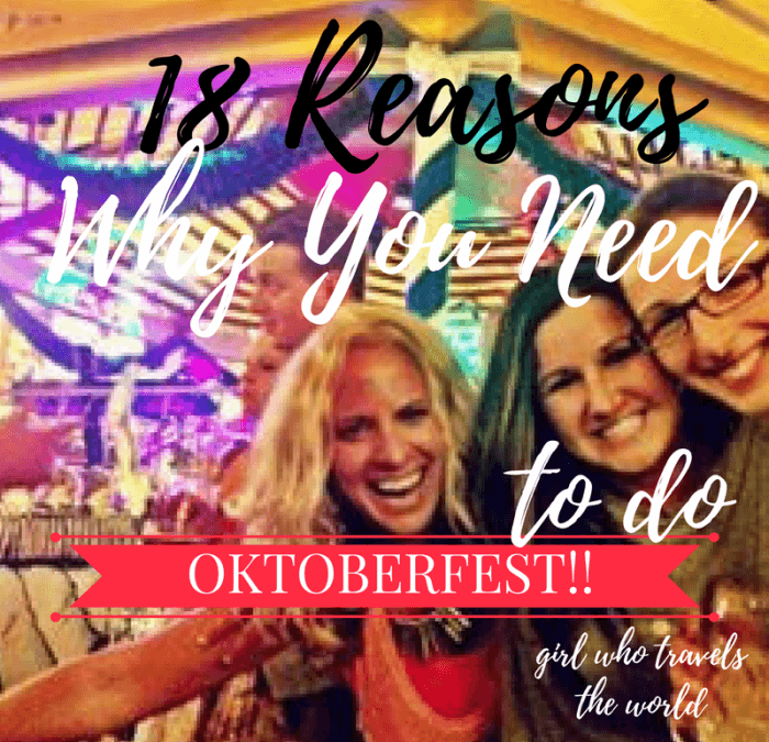 Why You Need to Do Oktoberfest!