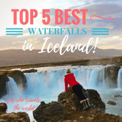 Top 5 Best Waterfalls in Iceland!
