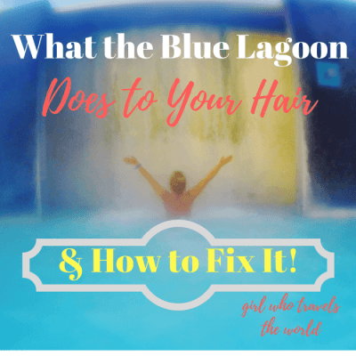 How To Fix Blue Lagoon Hair!