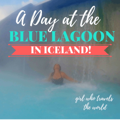 A Day at the Blue Lagoon in Iceland!