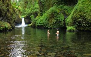 Great Hikes in the Columbia Gorge, Punchbowl Falls, Girl Who Travels the World