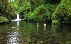 Great Oregon Hikes, Punchbowl Falls, Columbia River Gorge