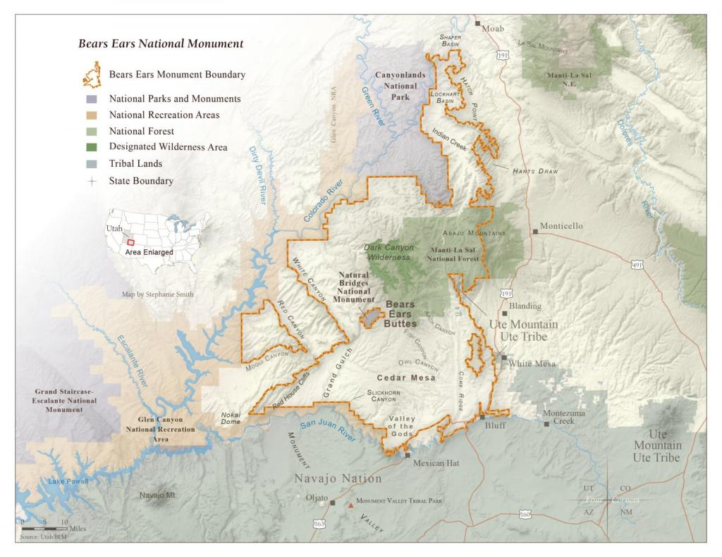 National Monuments, Bears Ears