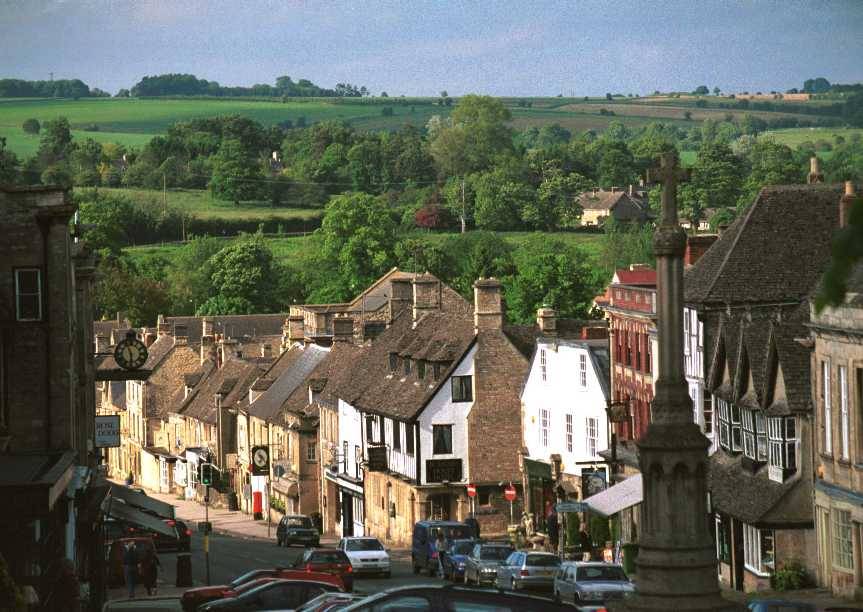 Best Bed & Breakfasts in the Cotswolds, Burford High Street