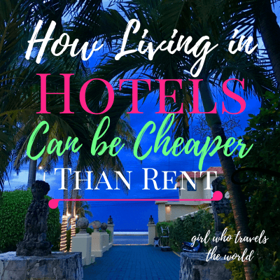 How Living in Hotels Can Be Cheaper than Rent