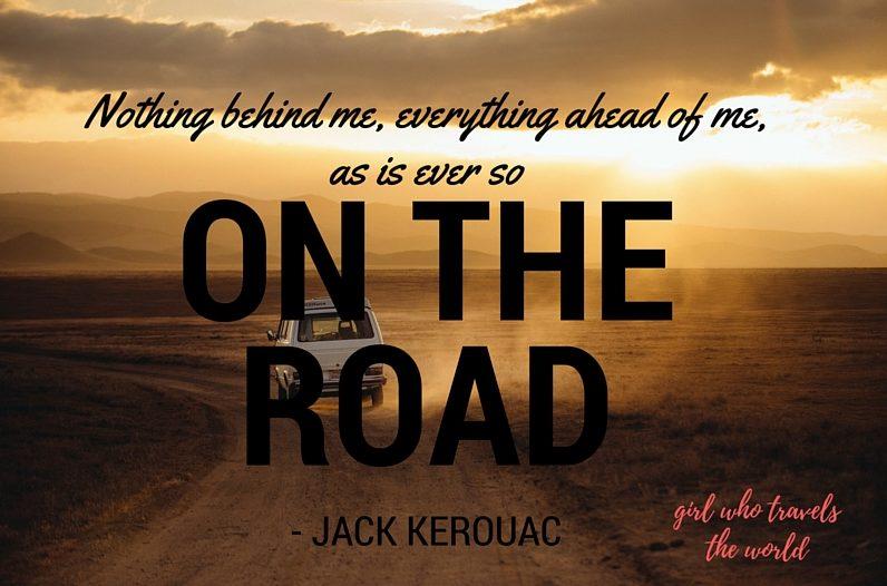 Kerouac Quote, Great Travel Quotes