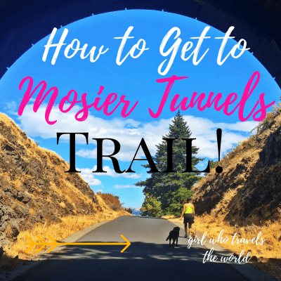 How to Get to Mosier Tunnels Trail