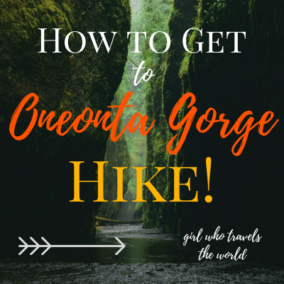 How to Get to Oneonta Gorge Hike!